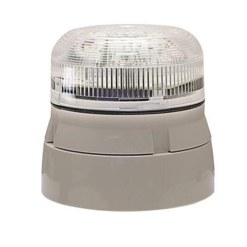 Klaxon Flashguard QBS-0055 Beveiligingsstroboscoop - 24 V DC - Visueel - Helder, Wit